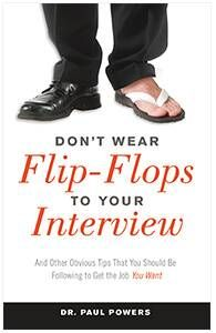 Dont Wear Flip Flops to Interview Book Embed