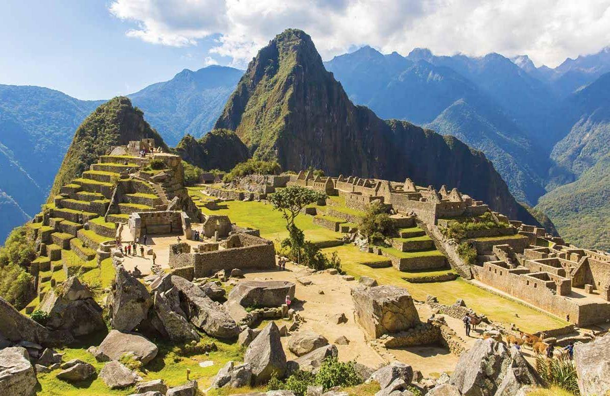 Machu Picchu, Peru in South America