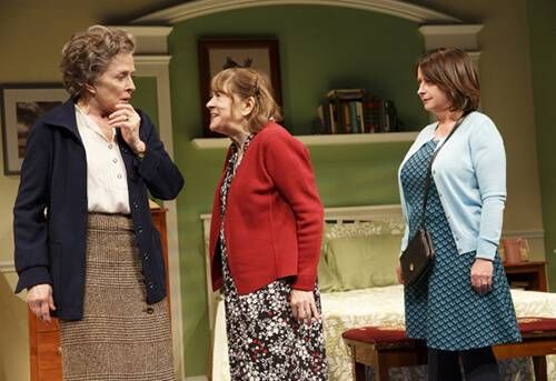 Holland Taylor as 'Abby,' Marylouise Burke as 'Marilyn,' and Rachel Dratch as 'Colleen' in Ripcord by David Lindsey-Abaire and Directed by David Hyde Pierce
