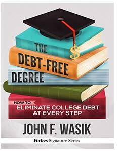 Debt Free Degree Book Cover Embed