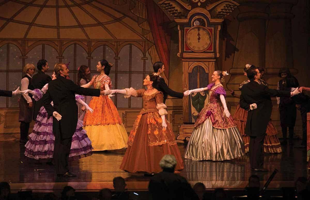 Lauren Kessler dancing 'The Nutcracker' on stage