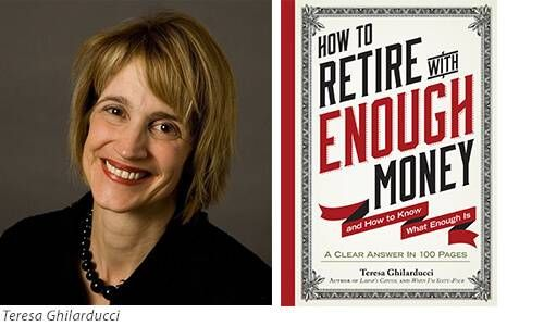 How to Retire with Enough Money Author and Book Embed