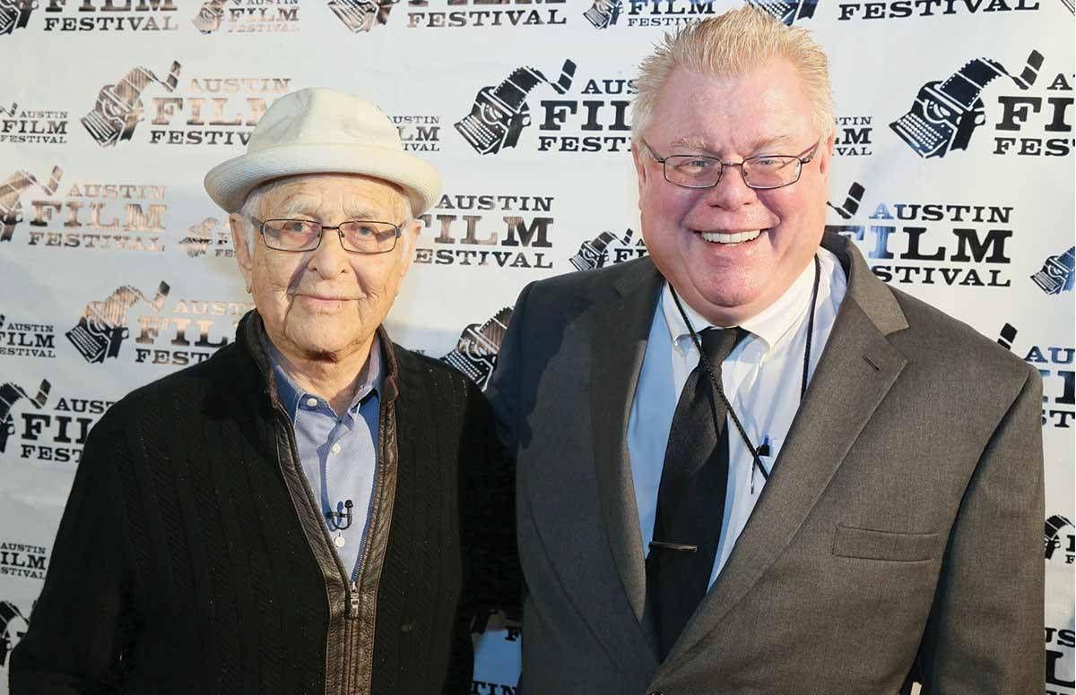 Norman Lear and Daniel Petrie Jr.