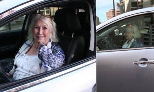 Uber driver, Sue Johnson, age 72.