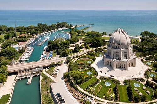 Baha'i Temple in Wilmette, IL