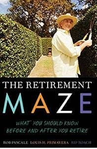 The Retirement Maze book cover embed