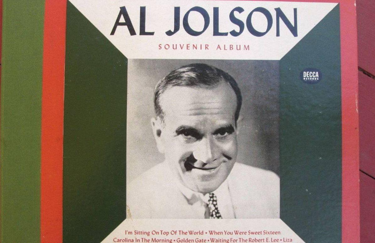 Vintage Al Jolson Souvenir Album 78rpm