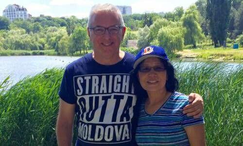 David Jarmul and his wife