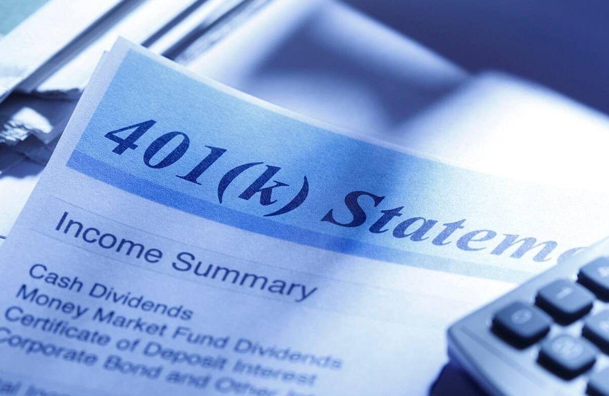 401(k) statement, retirement savings problem