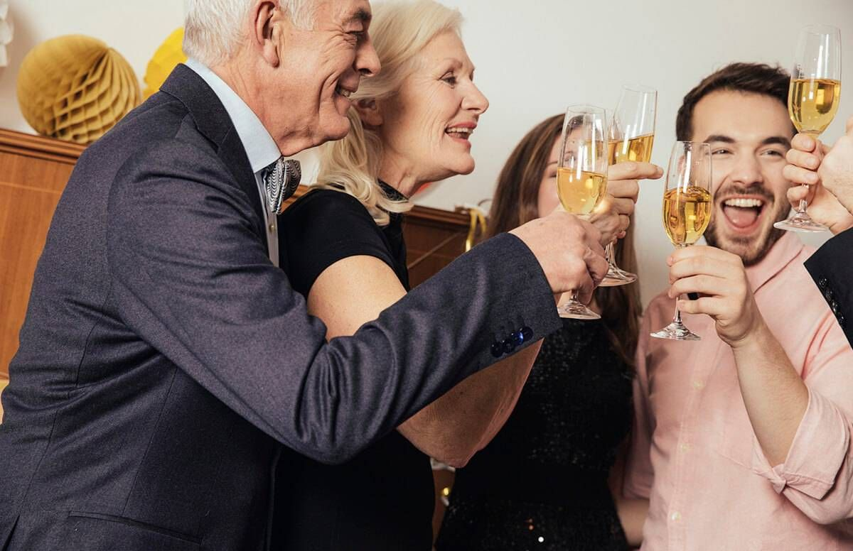 New Year's Toasts