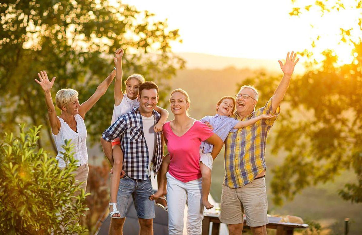 Multigenerational vacation