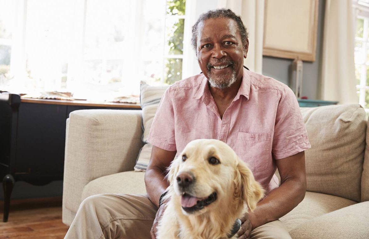 Pet-Friendly Retirement Community