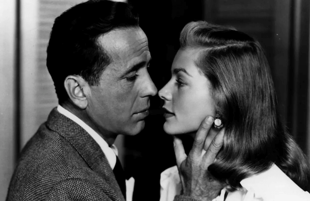 Humphrey Bogart & Lauren Bacall, 'To Have and Have Not' (1944).