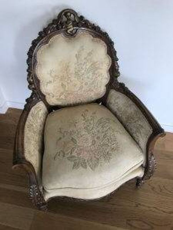Chair purchase from Hungary 1929