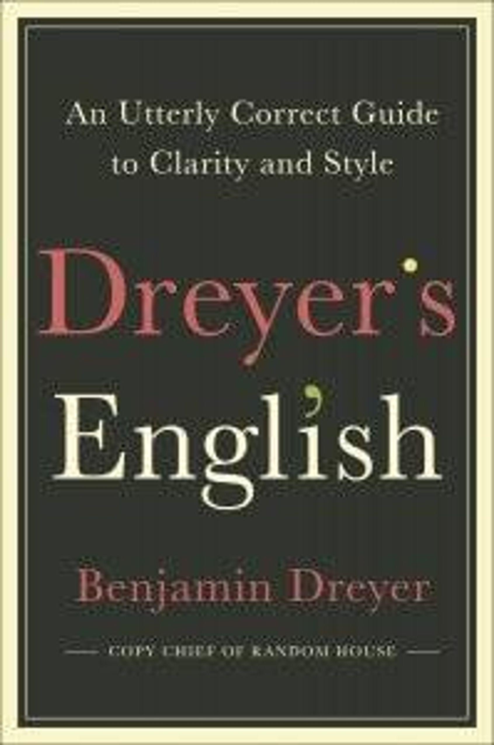 Dreyer's English cover