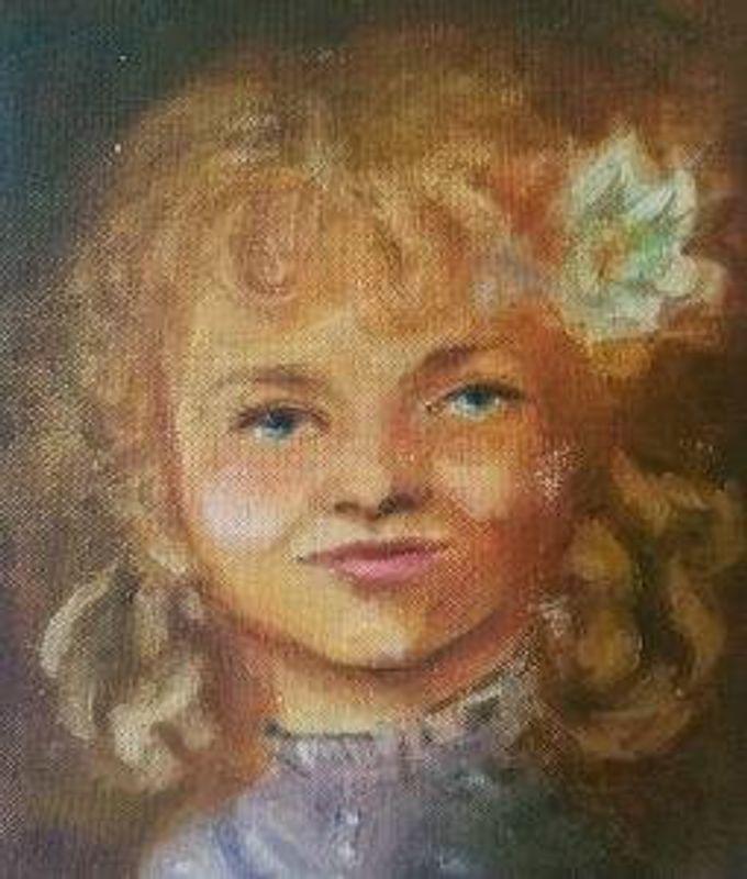 Rosalie Stillman painting