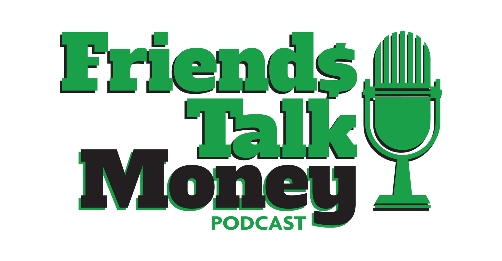 Friends Talk Money podcast logo, investments