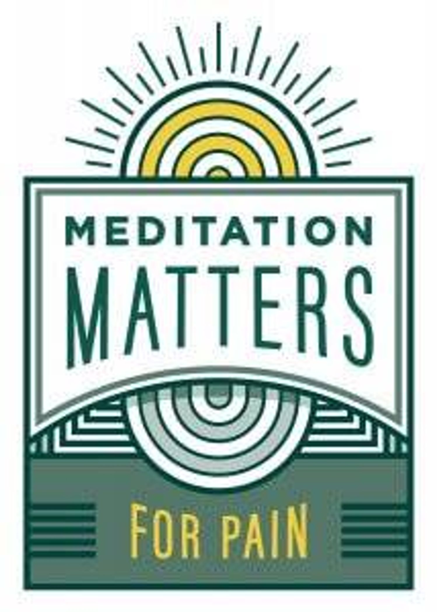 Meditation Matters – For Pain