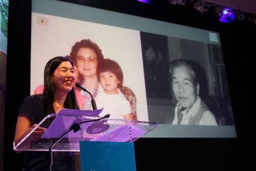 Ai-jen Poo speaks at the Age of Dignity Book Event at the Ford Foundation Center for Social Justice Jan. 22, 2015
