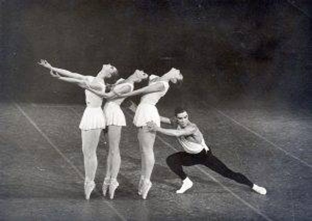 "Jacques d'Amboise dances the title role in ""Apollo,"" a ballet by New York City Ballet co-founder George Balanchine. Having first choreographed it in 1928, Balanchine revived it in 1957. The role became one of the defining moments of d'Amboise's career as critics lauded him as the ""definitive Apollo,"" according to the Paris Review"