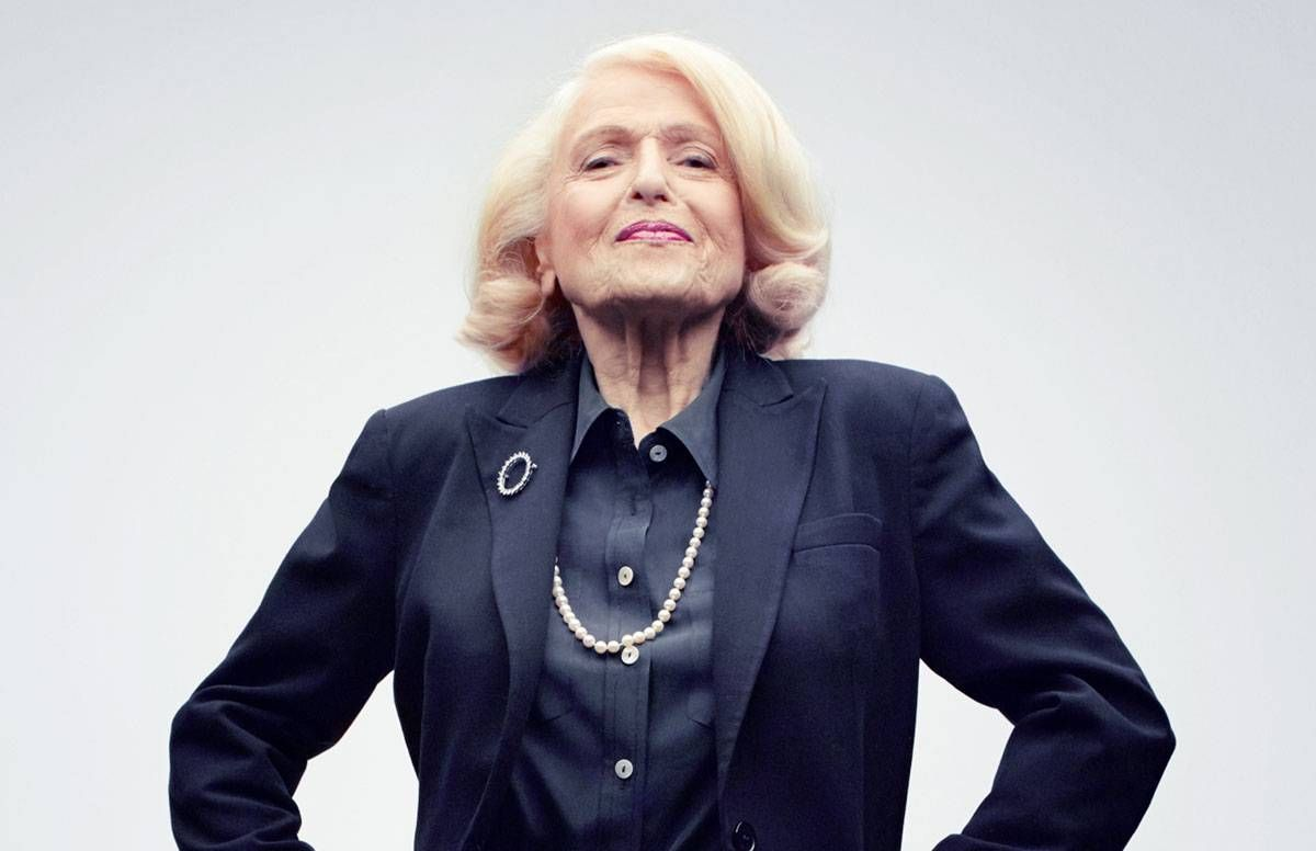 Edie Windsor Strikes a Power Pose