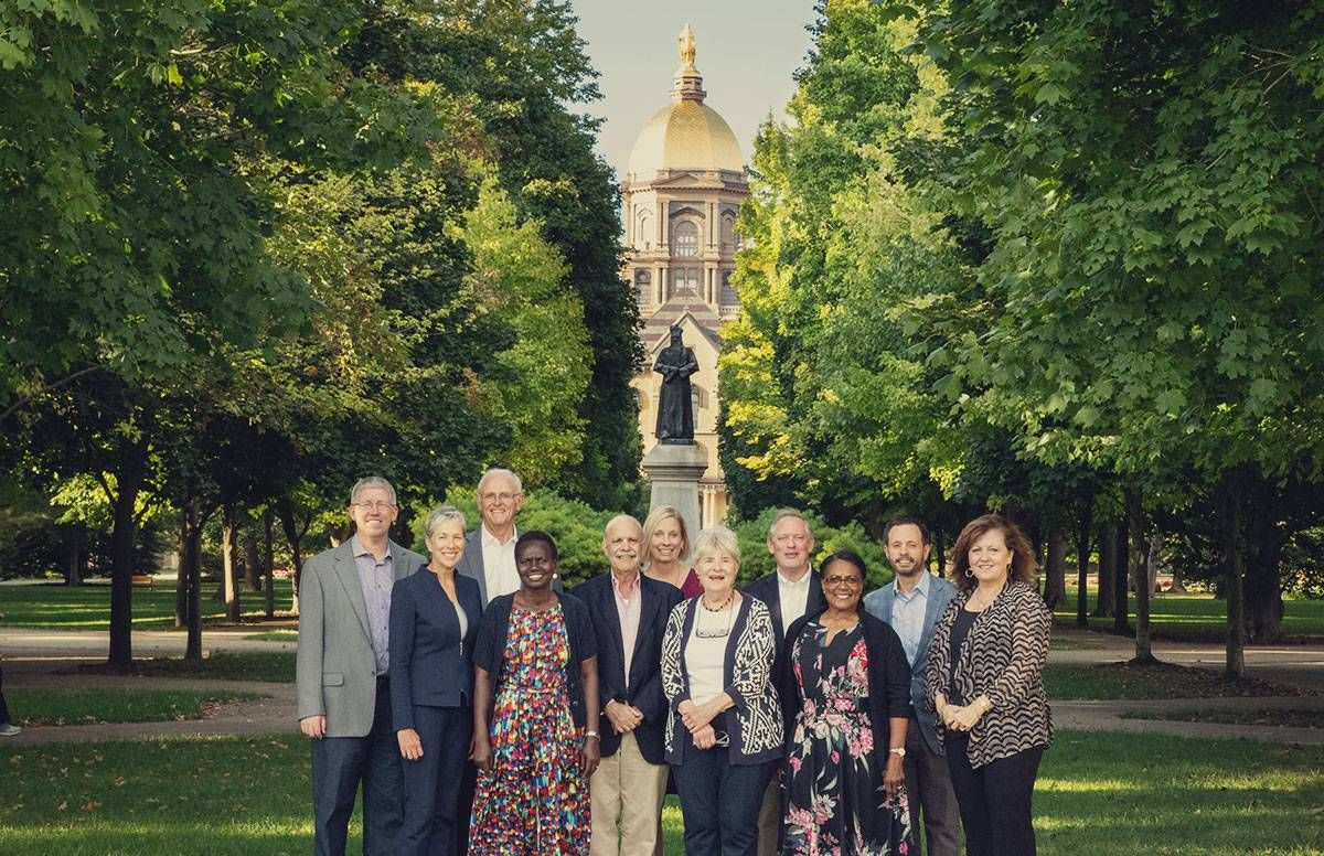 Students from Notre Dame's 2018 Inspired Leadership Initiative