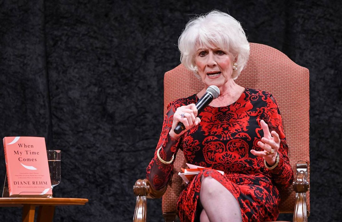 Author Diane Rehm