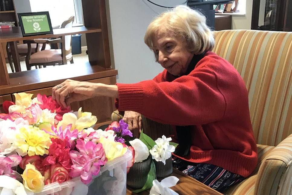 Jackie Deeb of Clark Retirement Community
