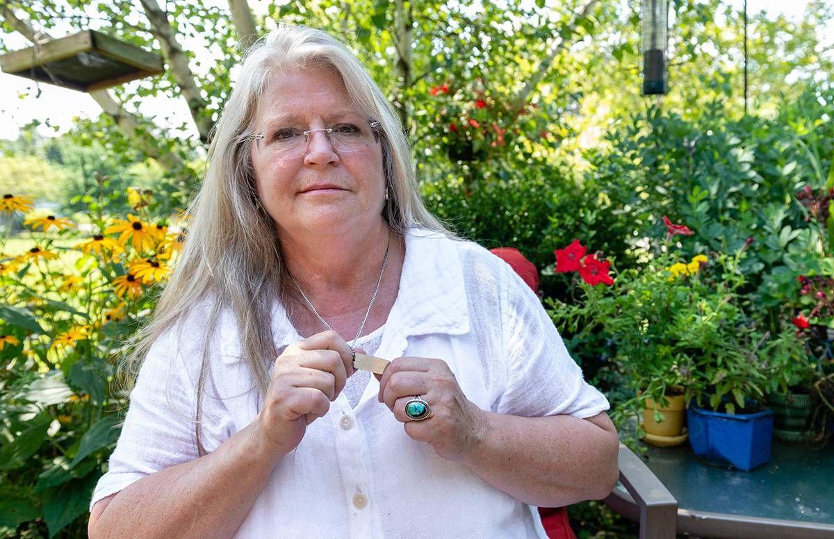 Susan Saran, who lives with dementia