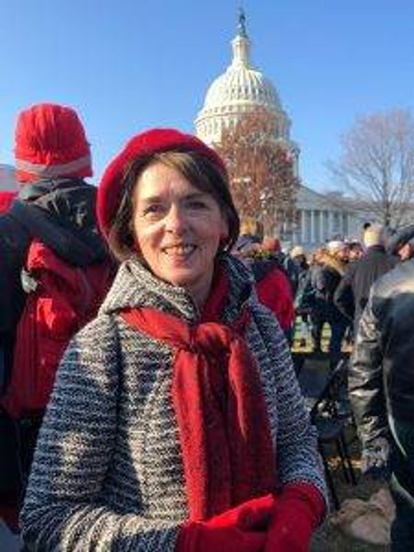Lois Gibbs in Washington, D.C.