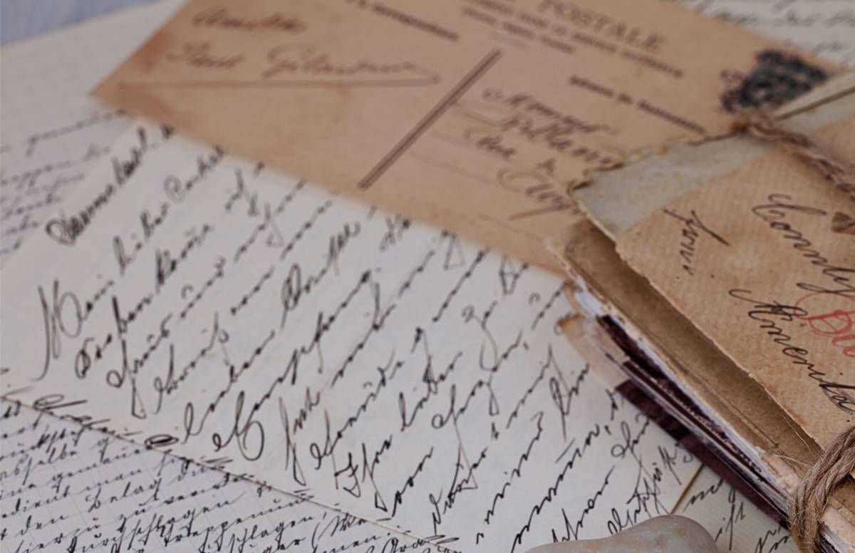 old-fashioned love letters