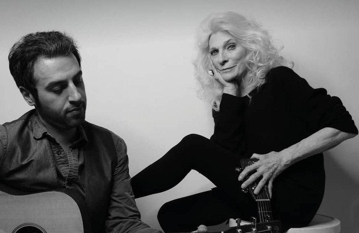 Ari Hest and Judy Collins