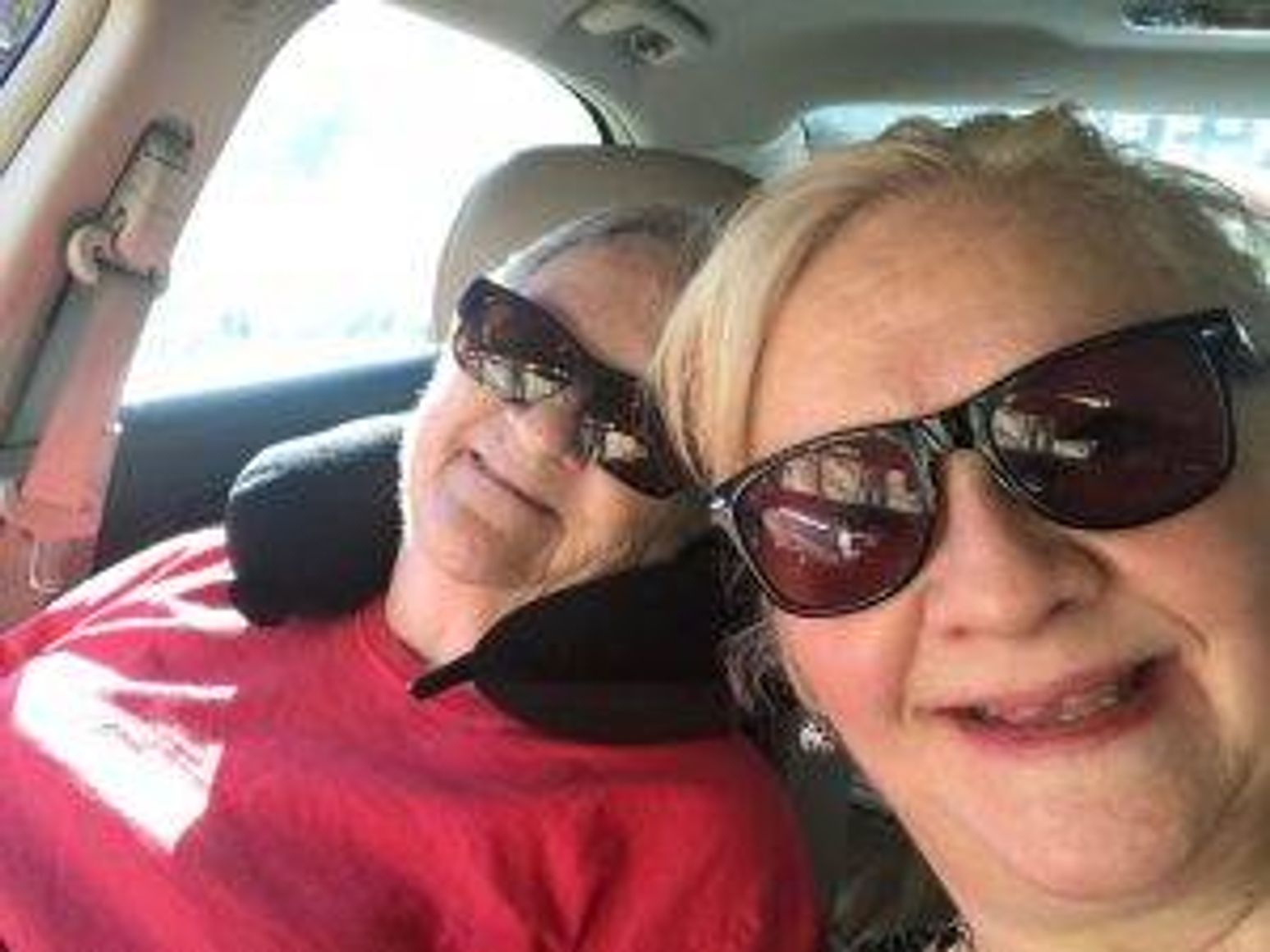 The author and her mother on their caregiving journey.