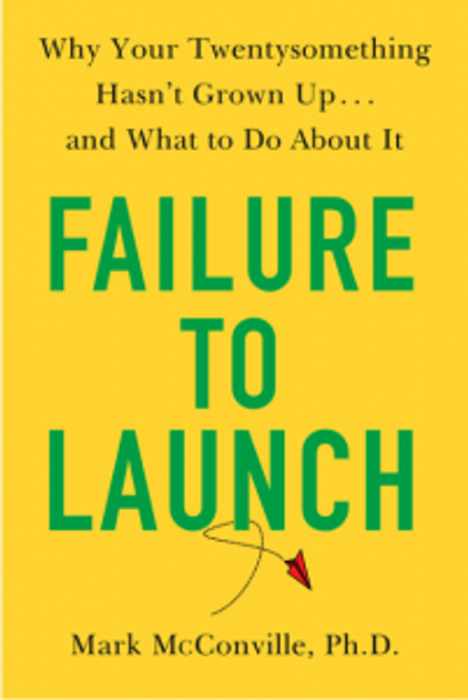 """Failure to Launch"" book cover"