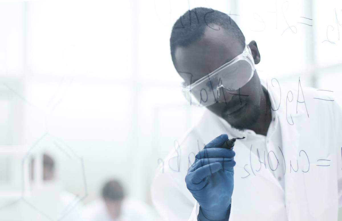 Scientist in a lab