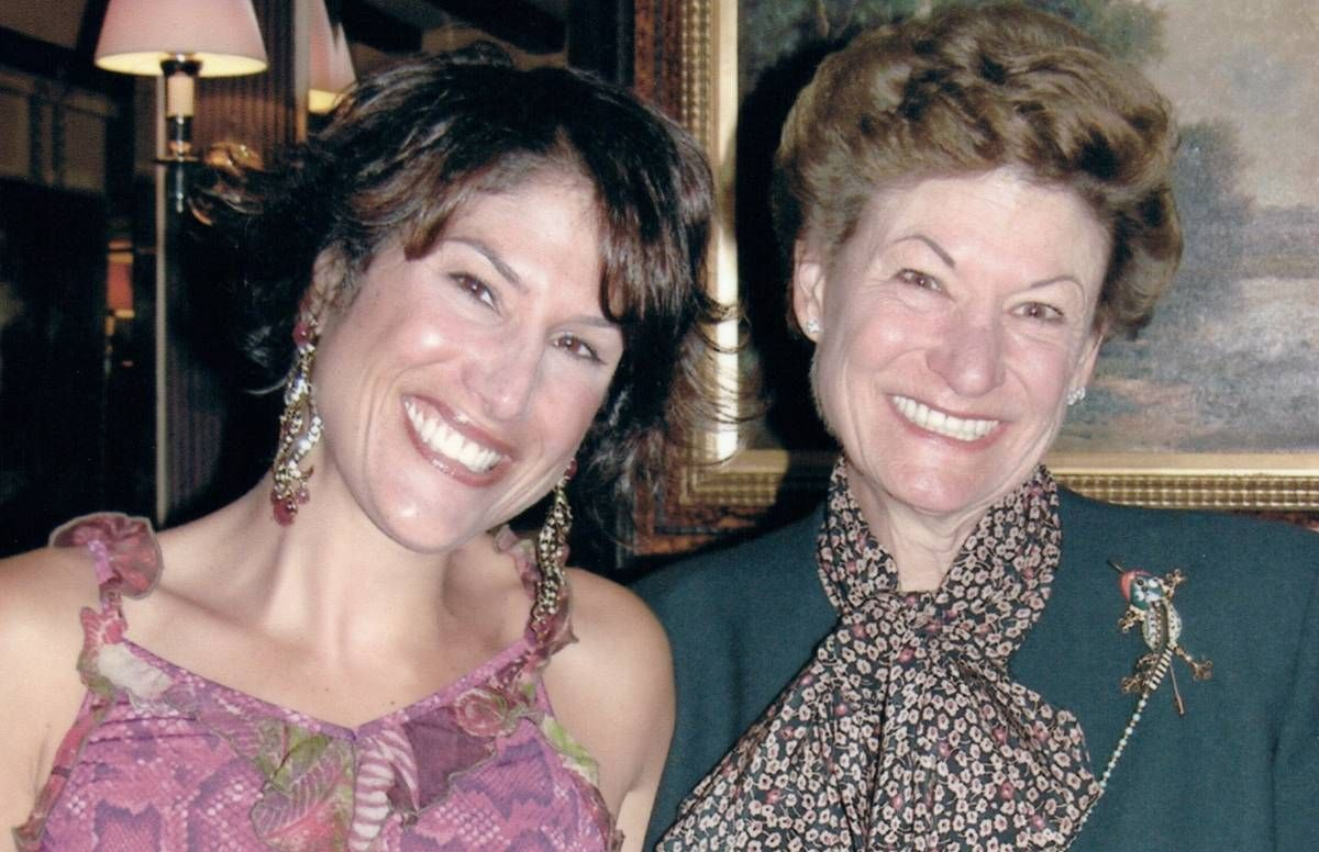 Vicky Gottlieb and her mother