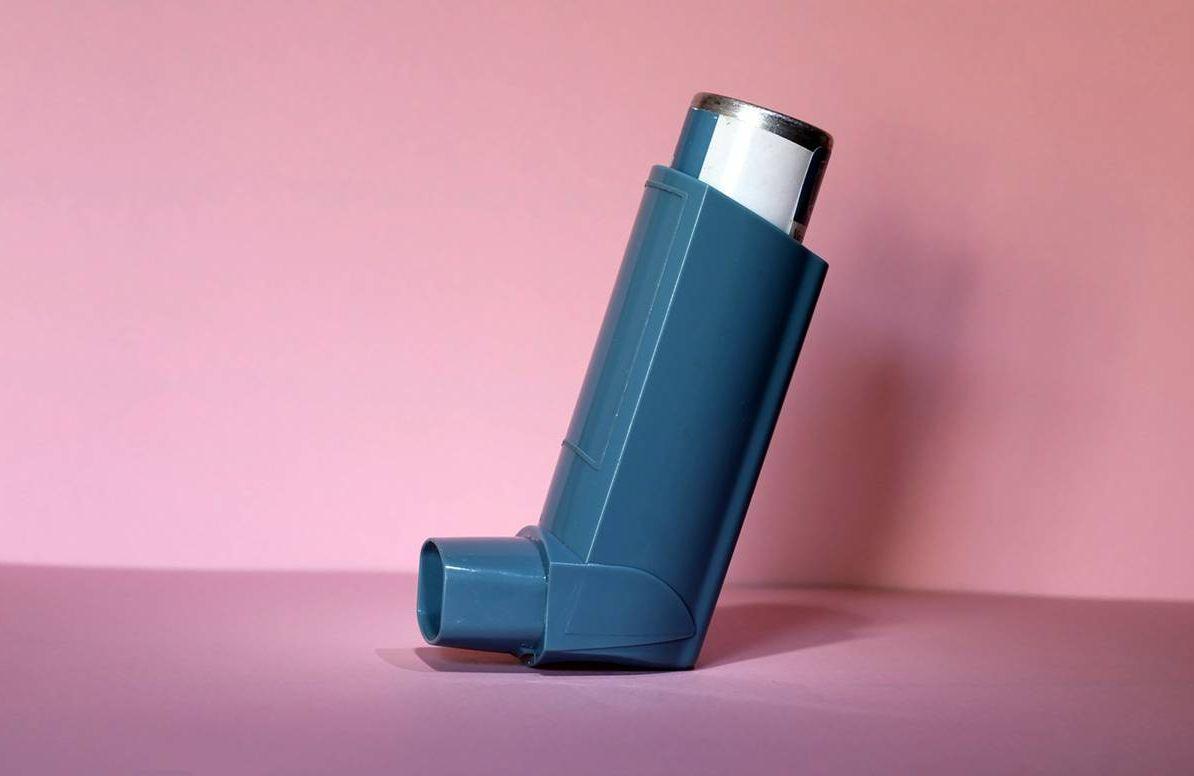 art shot of an inhaler