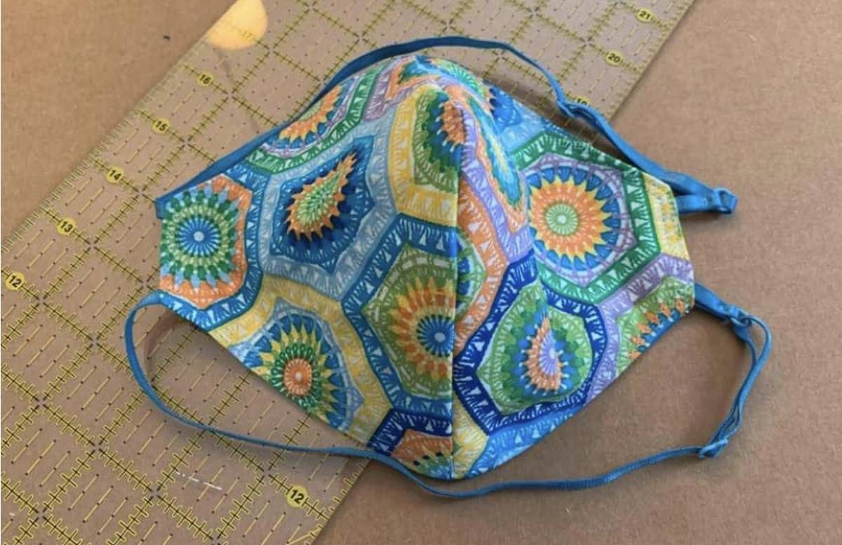 Hand-sewn mask