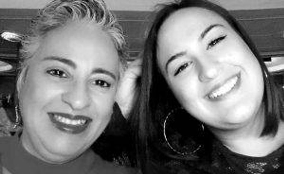 Xio Mora-Lopez, who's lived with HIV for 26 years, and her daughter