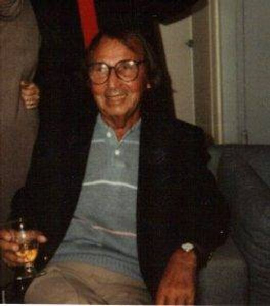 Max Davidoff at in his mid to late 70s
