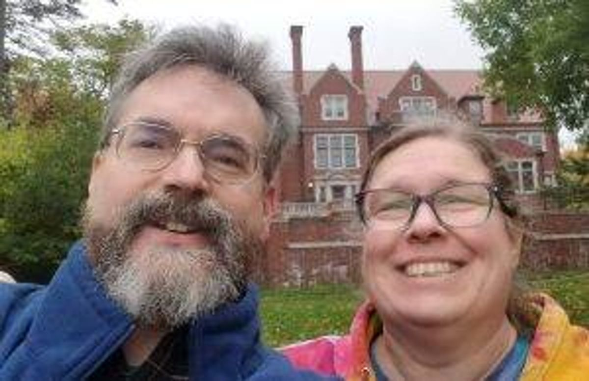Dan Callahan and his wife, Brenda