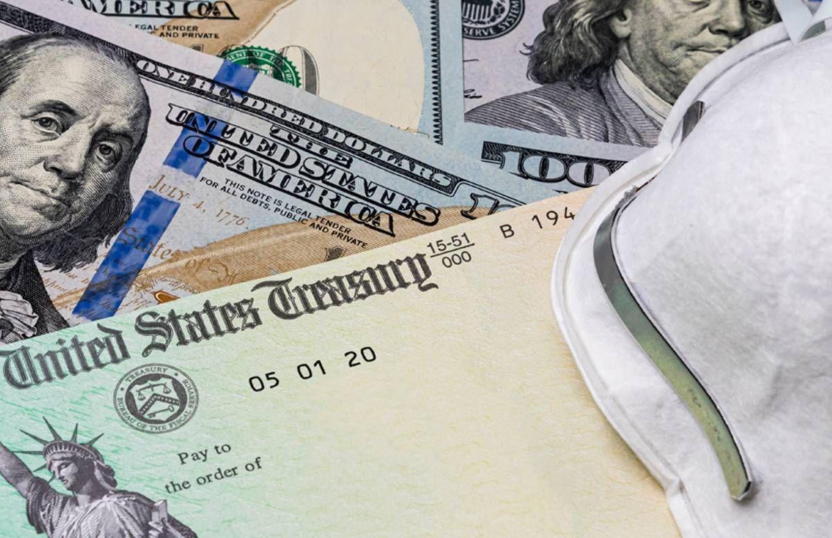 stimulus check and mask