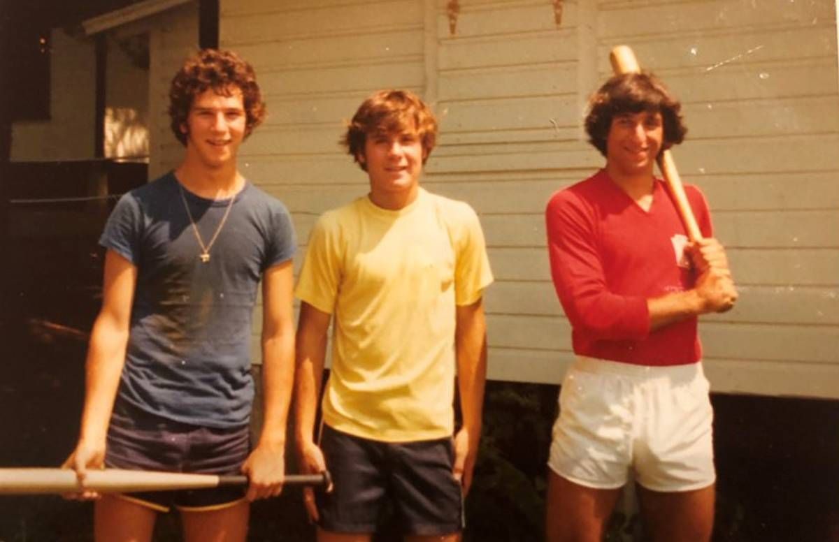 Summer Camp 1972: Paul Magaril, the author, Jeff Gold