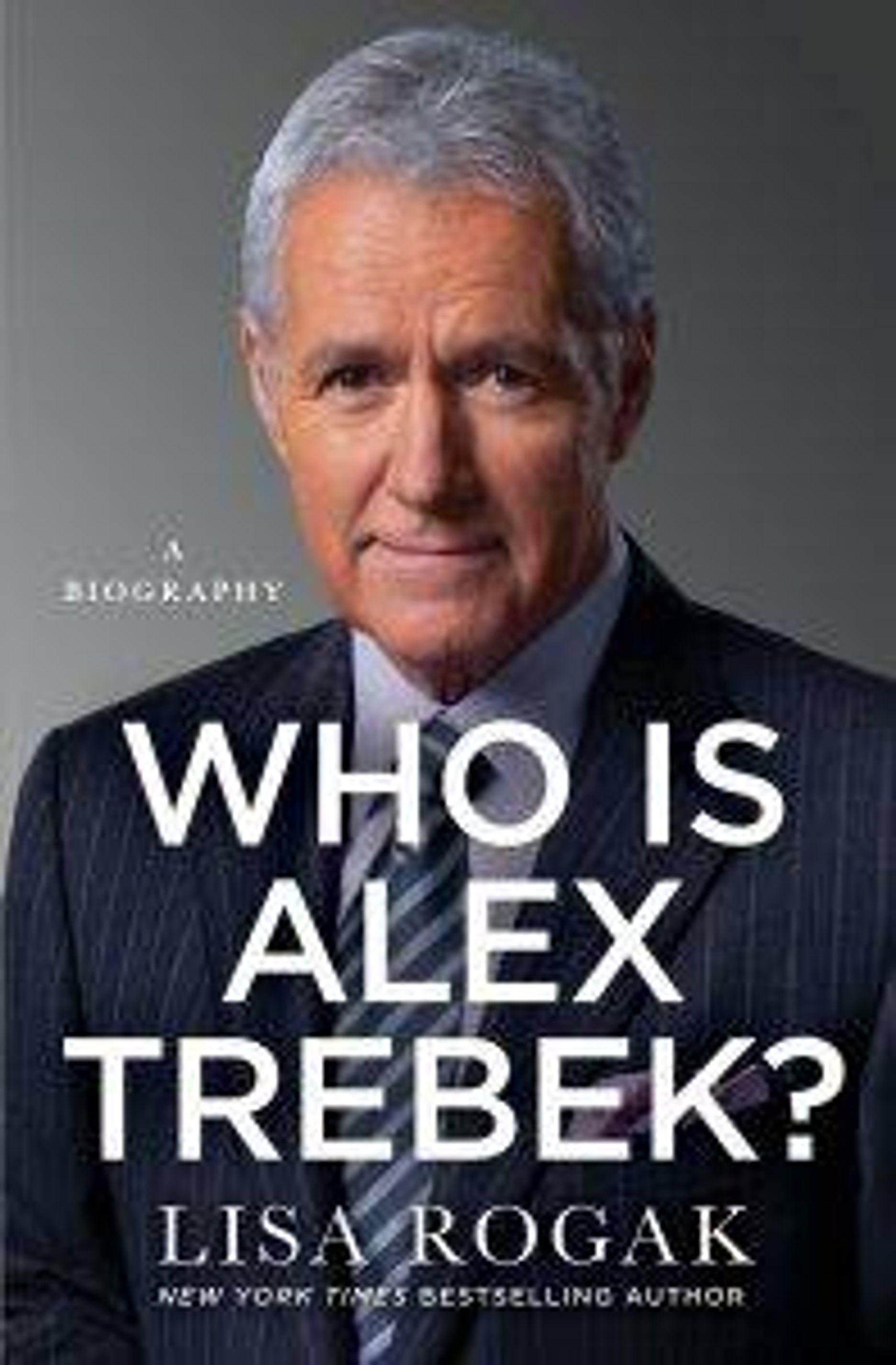 """Who is Alex Trebek?"" book"