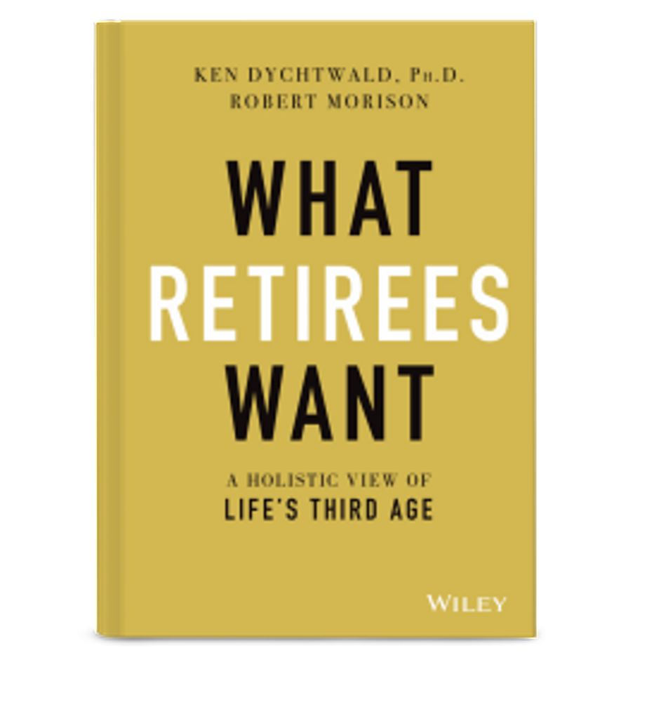 """""""What Retirees Want"""" book"""