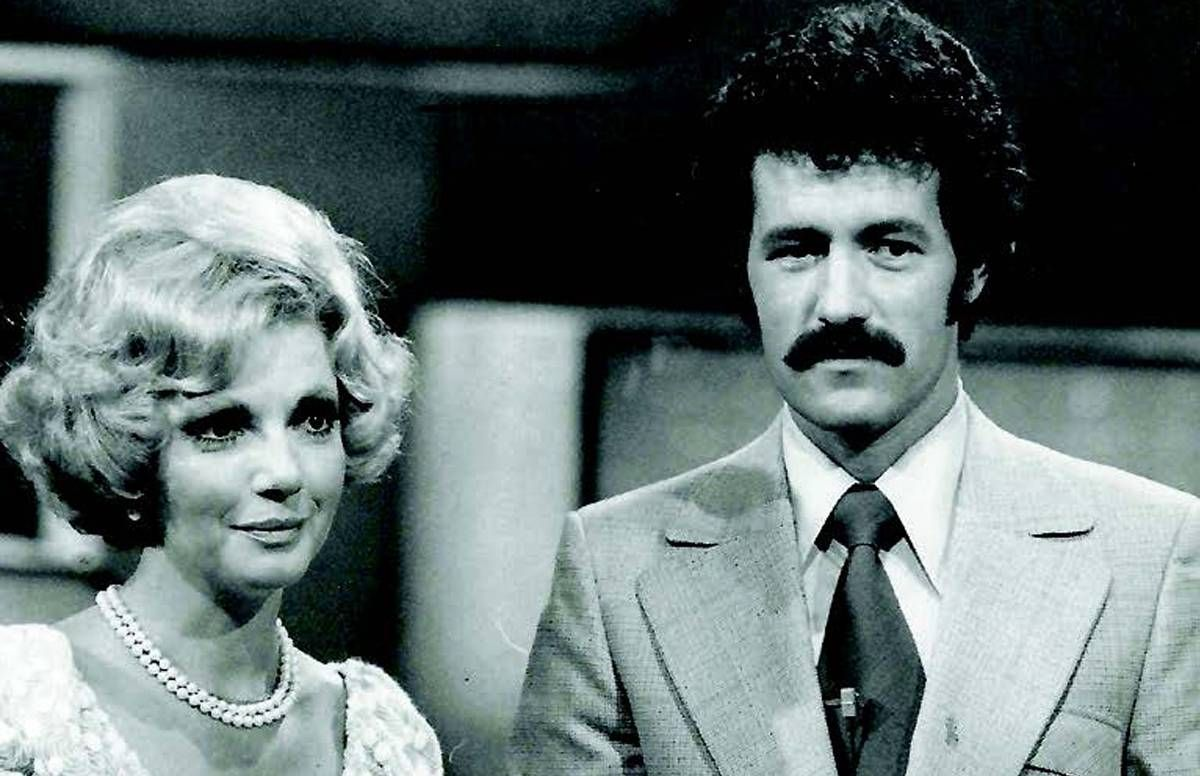 Ruta Lee helped Alex roll the die on his first American game show, High Rollers, which debuted in 1974