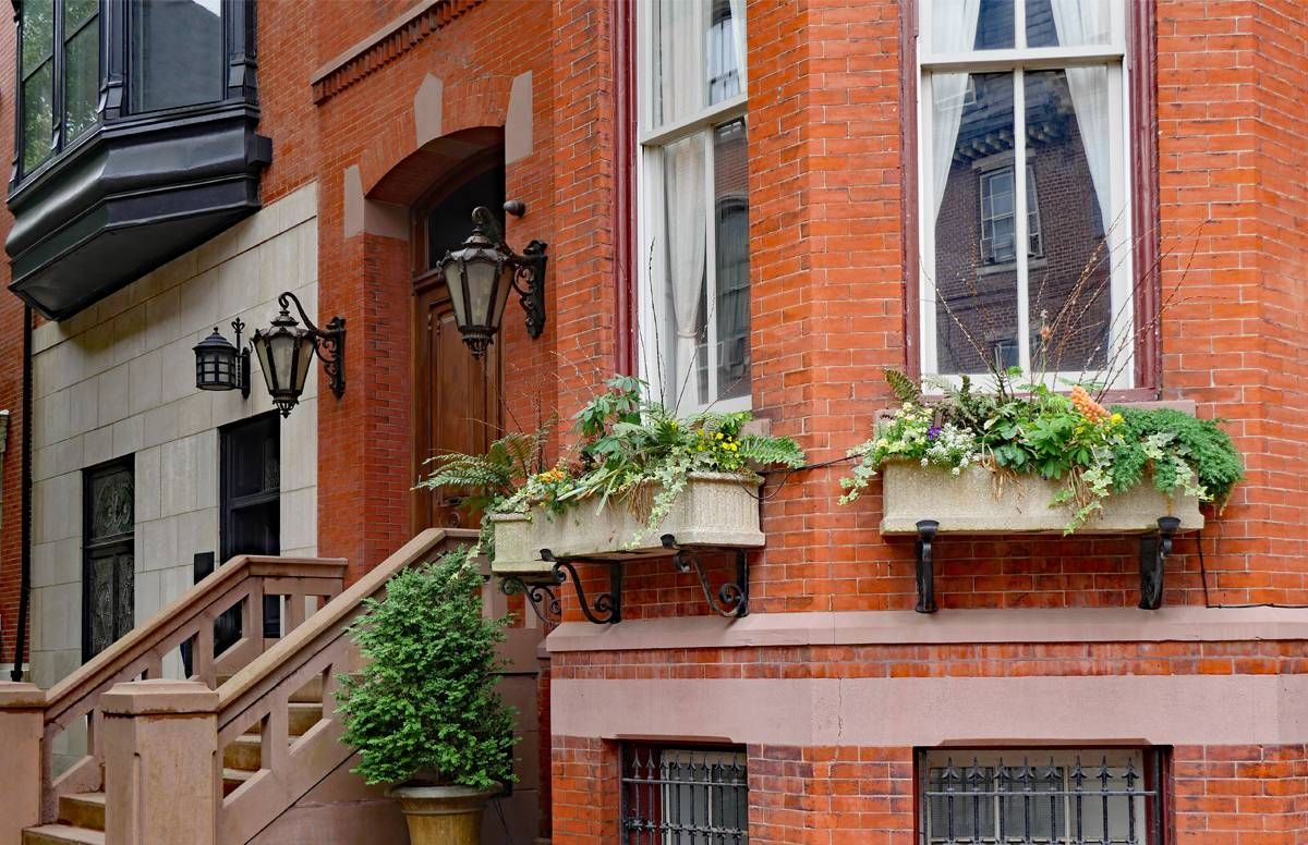 New Jersey Brownstone