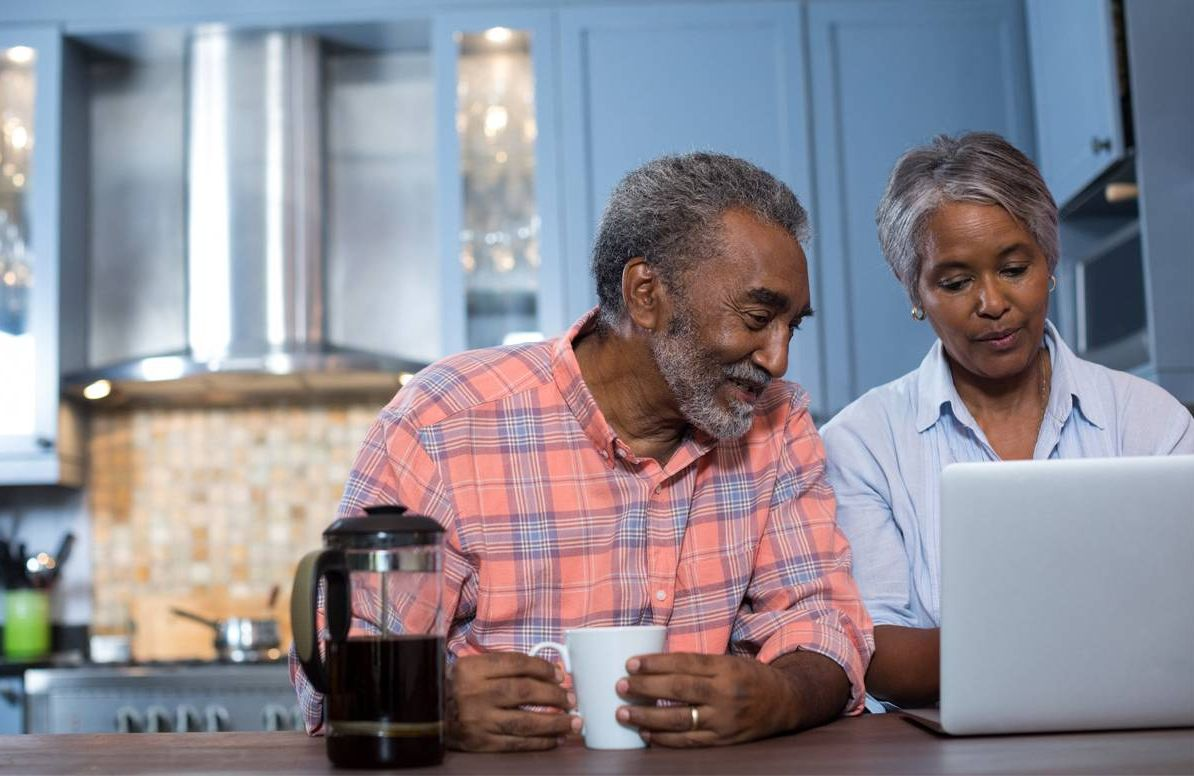 content older couple