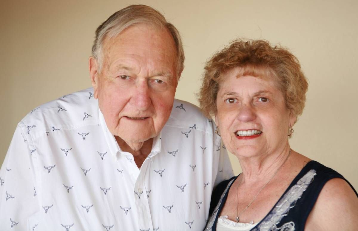 Ron and Barb Wachter of Pullman, Wash., where people live long lives
