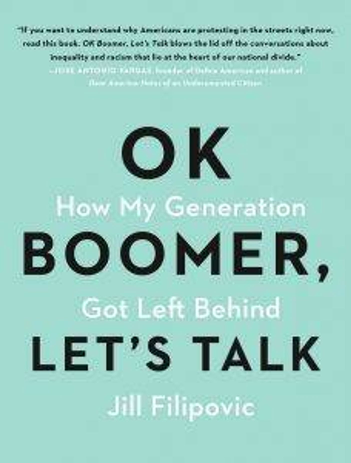 """Ok Boomer, Let's Talk"" Book"